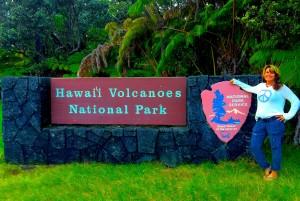 Volcano entrance