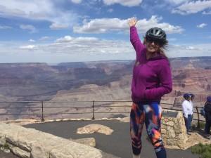 Biking on the Rim